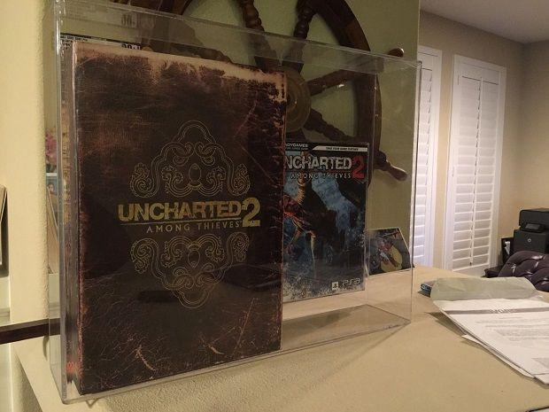 45.000 dolara, sahibinden çiziksiz garantili Uncharted 2...