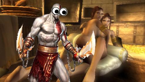 God of War 3'ün seks sahneleri az daha çıkarılıyordu