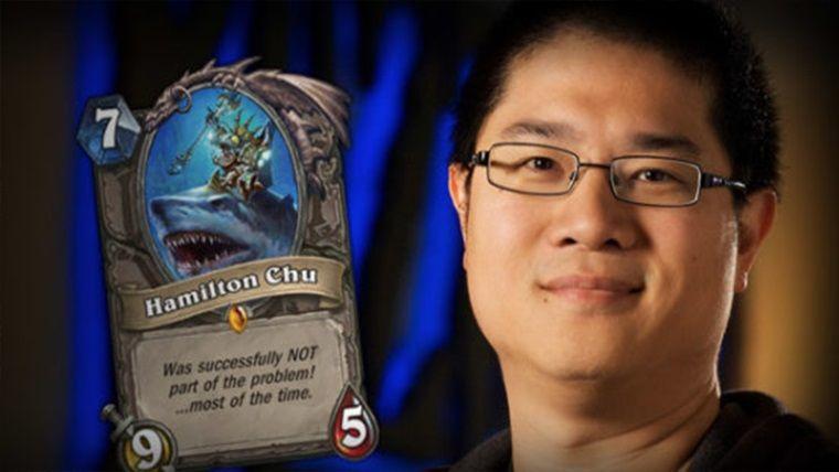 Hamilton Chu da Blizzard şirketinden ayrıldığını açıkladı