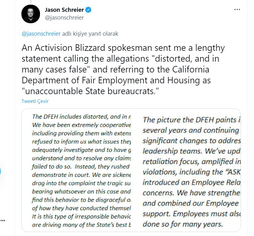 Activision Blizzard accused of gross sexual misconduct