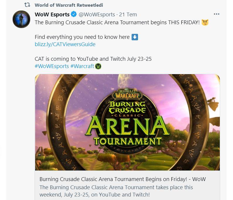 Blizzard'ın sosyal medya hesapları
