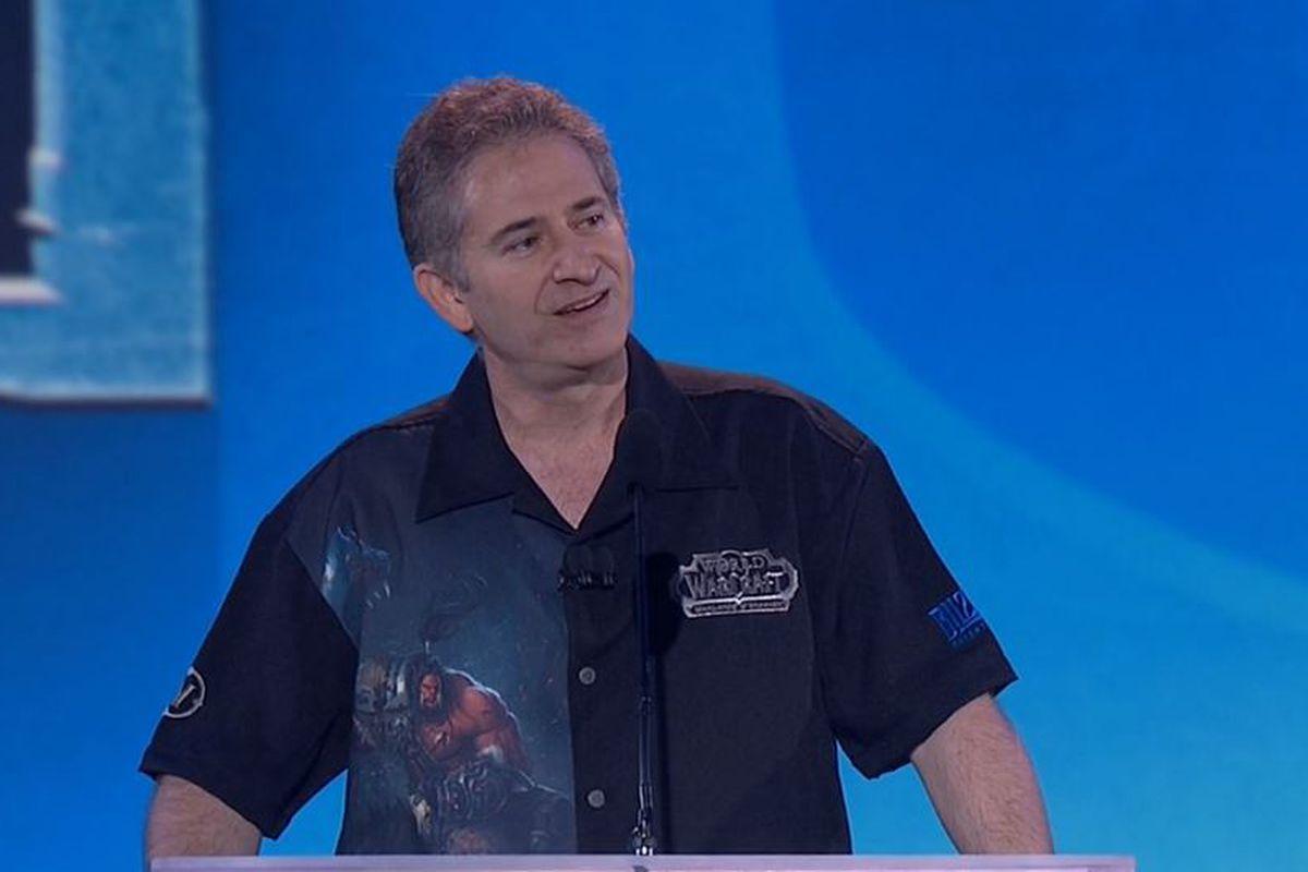 Blizzard'ın kurucularından Mike Morhaime