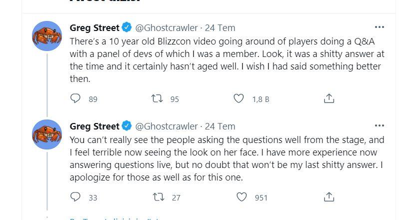 Eski Blizzard çalışanı Blizzcon 2010 için özür diledi