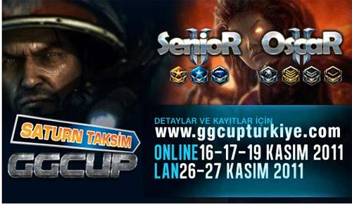 Saturn Taksim StarcarftGGcUp turnuvasına kayıtlar için son günler!