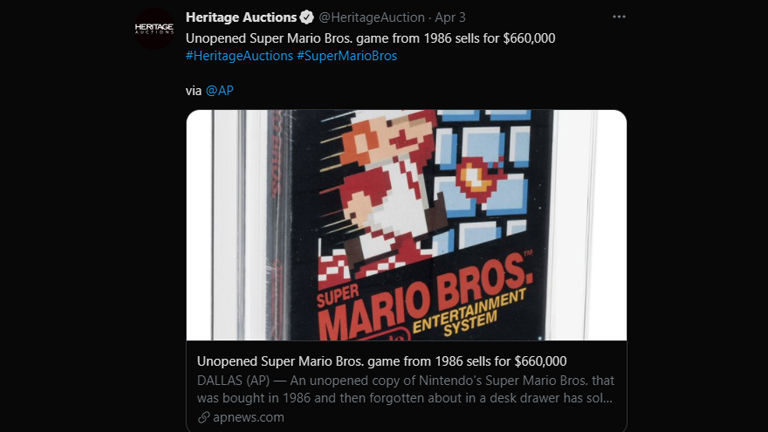 World's most expensive game: Sold for $ 660,000