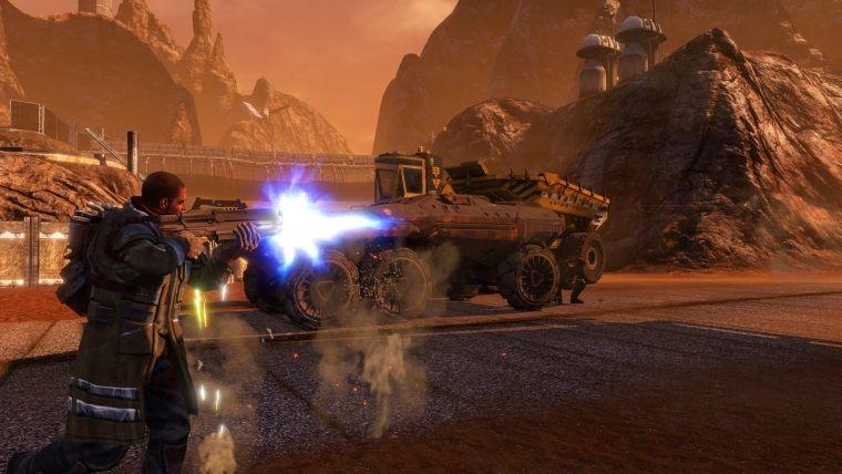 Red Faction Guerrilla Re-Mars-tered PS Store ve Steamde çıktı
