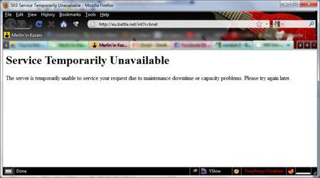 Battle.net çöktü!