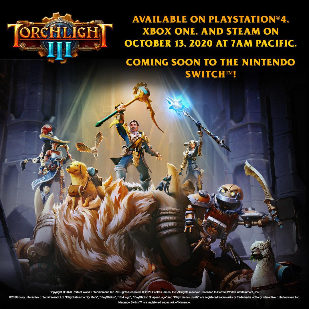 Torchlight III çıkış tarihi açıklandı