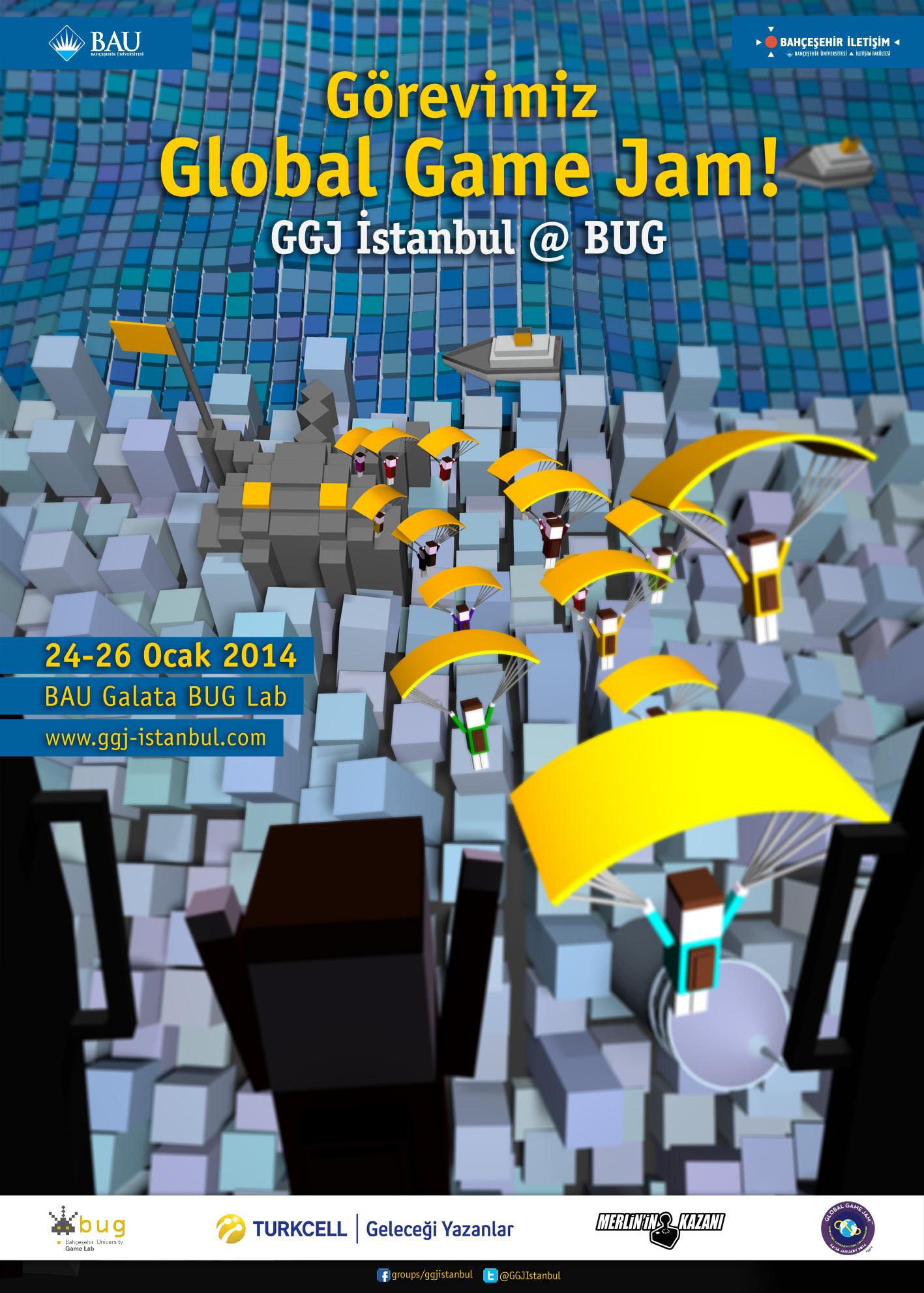 Global Game Jam Istanbul başlıyor!