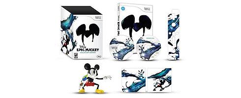 Epic Mickey'in koleksiyonluk versiyonu