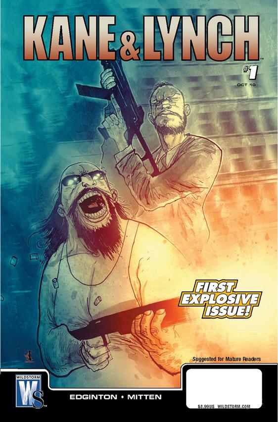 Kane and Lynch 2'nin çizgi romanı