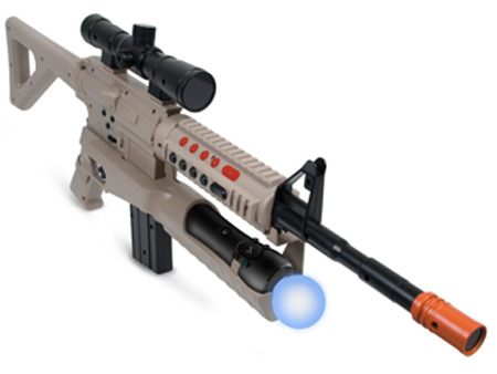 PlayStation 3 için Move destekli saldırı tüfeği