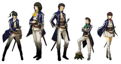 Shin Megami Tensei IV'den karakterler