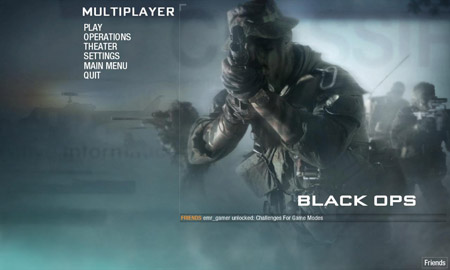 Call of Duty: Black Ops Online Rehberi