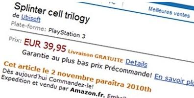 Splinter Cell ve Prince of Persia, PS3'e doğru