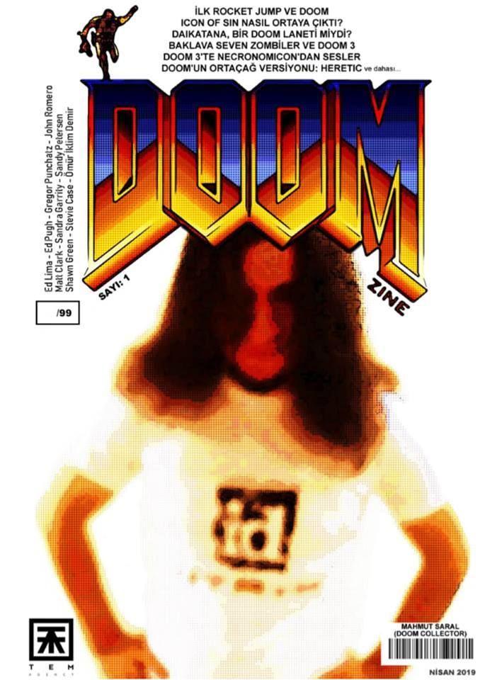 Doomzine dergi çıktı. Türkçe ve sadece 99 adet