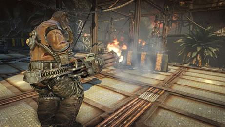 Bulletstorm'un yeni ekran görüntüleri