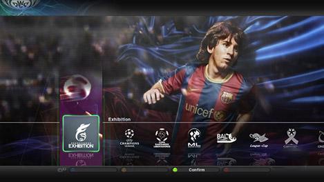 PES 2011'in yeni ekran görüntüleri