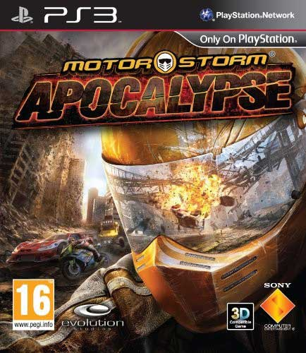 MotorStorm Apocalypse'in Avrupa kutusu