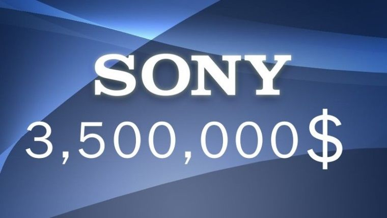 Sony, 3.5 milyon dolar para cezasına çarptırıldı