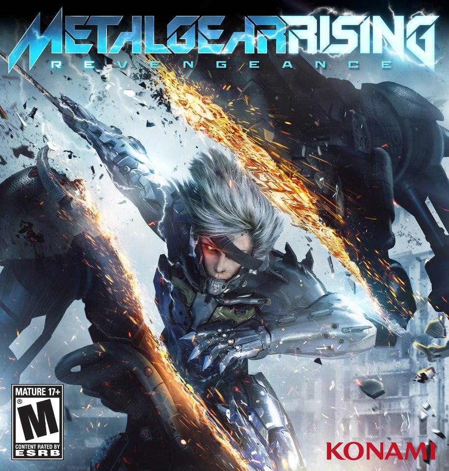 Metal Gear Rising kapağı belli oldu!