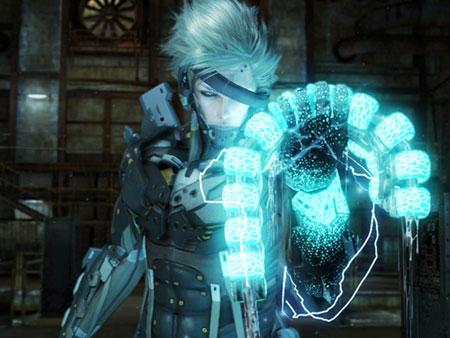 Metal Gear Rising'in kahramanı Raiden ve onun metal dostu