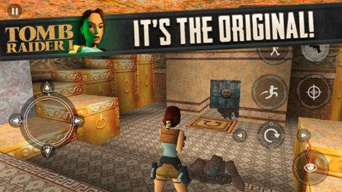 Tomb Raider 1 mobil ortamlarda!