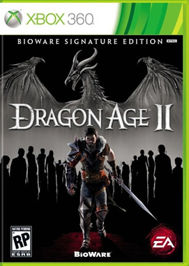 Dragon Age 2'nin kutu tasarımı