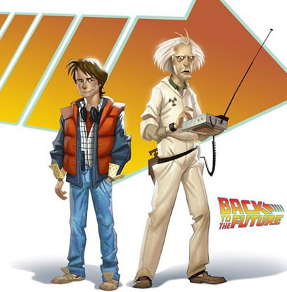 Back to the Future geldi gelecek