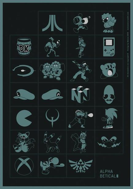 Oyun alfabesini gördünüz mü?