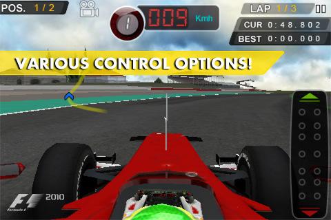 F1 2010, mobil platformlar için çıktı