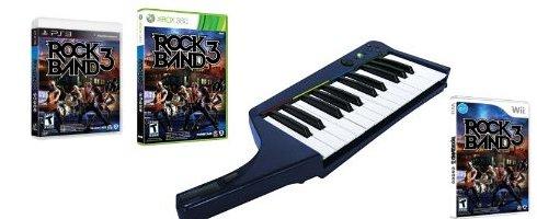 Rock Band 3, klavyesiyle satılacak
