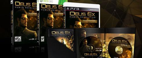 Deus Ex: Human Revolution koleksiyoncuları unutmayacak