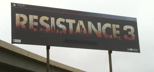 Resistance 3, 2011'de geliyor