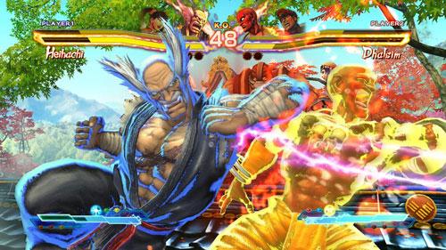 """Street Fighter X Tekken için """"fırlatmalı"""" değişim!"""