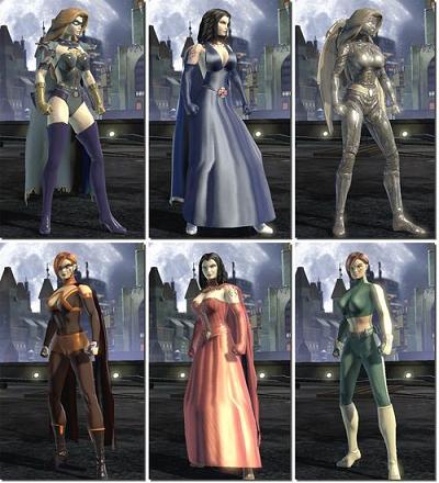 Süper kahramanların güzel vücutları