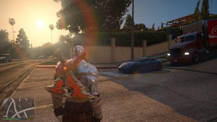 Kratos, yeni mod ile Los Santos sokaklarını birbirine katıyor