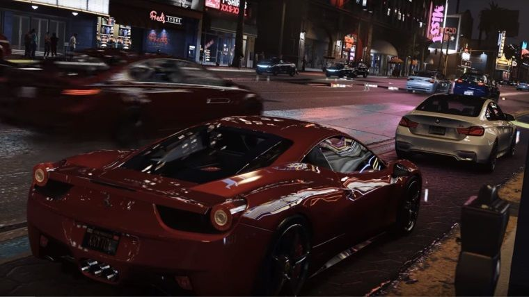 GTA V için geliştirilen doğal 4K modu göz kamaştırıcı görünüyor