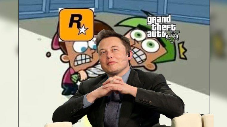 Elon Musk Rockstar'ın GTA 5 tutumunu trolledi