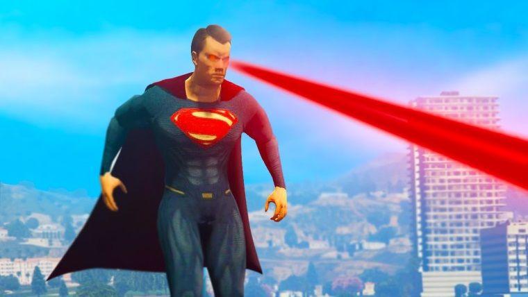 GTA V için Ultimate Superman modu yayınlandı