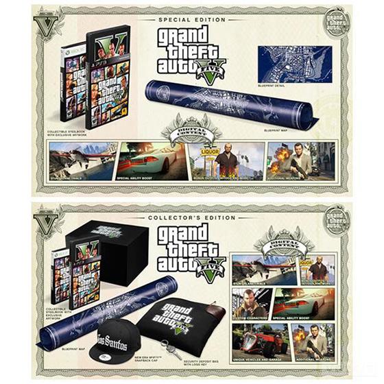 GTA 5'in koleksiyon versiyonu ön siparişte!