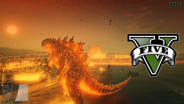 Godzilla ve Kong bu sefer de GTA V moduyla karşımıza çıktı