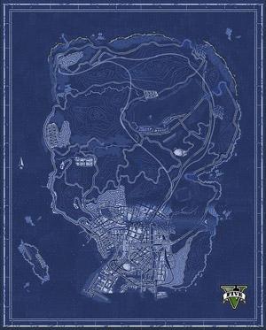 GTA 5 hayranları haritayı birleştirdi