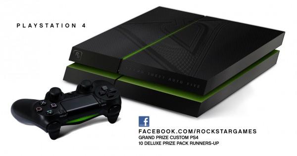 Grand Theft Auto V'e özel olarak PlayStation 4 ve Xbox One üretildi