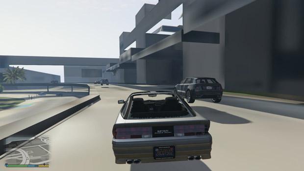 Grand Theft Auto V'te grafikleri ve tüm görselliği düşüren  hata!