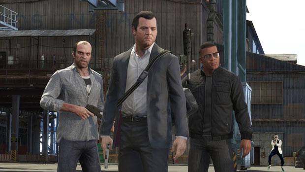 Grand Theft Auto V ile Gangnam Style'ın ortak yanı nedir?