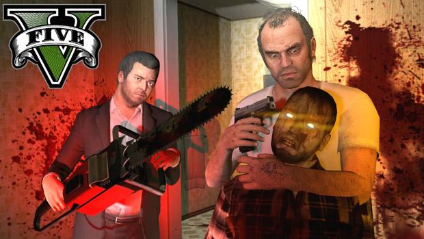 Grand Theft Auto V'e zombiler geliyor!