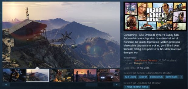 GTA 5, Steam'de en çok olumsuz oy alan oyunlardan biri oldu