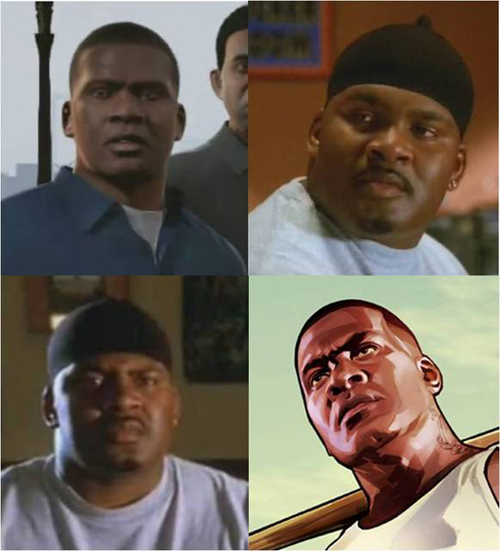GTA V'in Franklin'i bu adam mı seslendirdi?