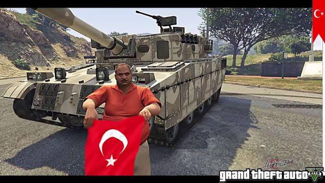 Grand Theft Auto V'te 15 Temmuz Darbe canlandırması
